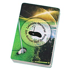 View a larger, more detailed picture of the Golf Playing Cards