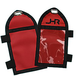 View a larger, more detailed picture of the Two Pocket Lanyard ID Pouch