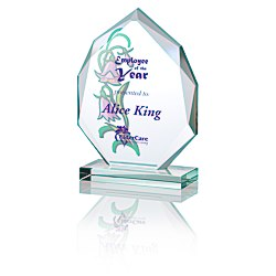 View a larger, more detailed picture of the Eclipse Jade Glass Award - 6 - Full Color