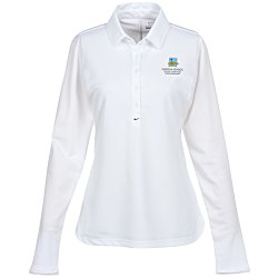 View a larger, more detailed picture of the Nike Performance Long Sleeve Stretch Polo - Ladies
