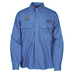 View a larger, more detailed picture of the Eddie Bauer Cotton LS Angler Shirt