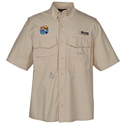 View a larger, more detailed picture of the Eddie Bauer Cotton SS Angler Shirt