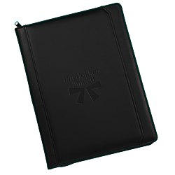 View a larger, more detailed picture of the Manchester Zippered Padfolio