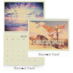 View a larger, more detailed picture of the American Spaces Calendar