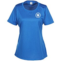 View a larger, more detailed picture of the Heather Challenger Tee - Ladies