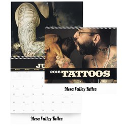 View a larger, more detailed picture of the Tattoo Art Calendar