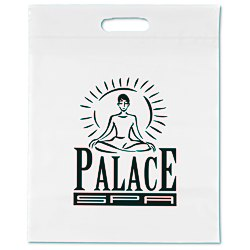 View a larger, more detailed picture of the Take Home Bag - 15 x 12 - White