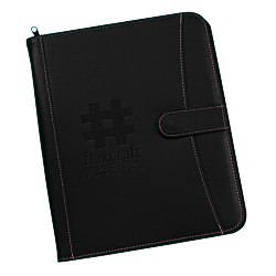 View a larger, more detailed picture of the Pebble Grain Faux Leather Portfolio