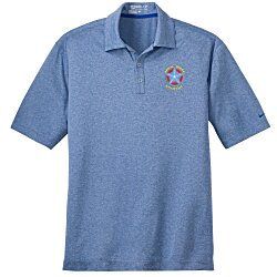 View a larger, more detailed picture of the Nike Performance Dri-Fit Heather Polo - Men s