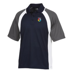 View a larger, more detailed picture of the Tri-Color Performance Polo - Men s