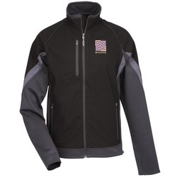 View a larger, more detailed picture of the Jozani Hybrid Soft Shell Jacket - Men s - TE Transfer