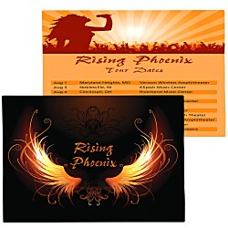View a larger, more detailed picture of the Double Sided Business Card Magnet - Rectangle - 5-3 4 x 4