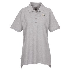 View a larger, more detailed picture of the Westlake Ringspun Cotton Pique Polo - Ladies
