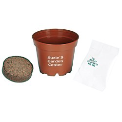 View a larger, more detailed picture of the Terra Cotta Planter Kit - Small