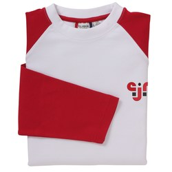 View a larger, more detailed picture of the Clique Billiards LS Raglan Jersey - Closeout