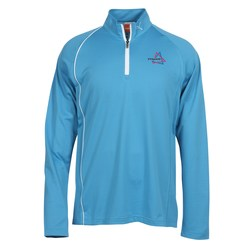 View a larger, more detailed picture of the PUMA Golf 1 4 Zip Cresting Pullover - Men s