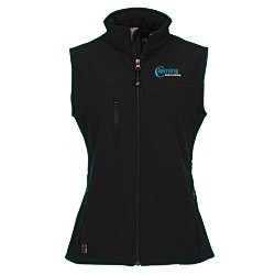 View a larger, more detailed picture of the Innis Soft Shell Vest - Ladies - 24 hr