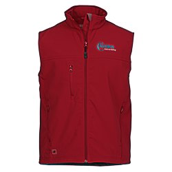 View a larger, more detailed picture of the Innis Soft Shell Vest - Men s - 24 hr
