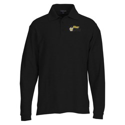 View a larger, more detailed picture of the Donner Long Sleeve Polo - 24 hr