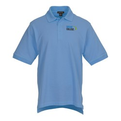 View a larger, more detailed picture of the Ayer Cotton Pique Polo - Men s - 24 hr