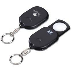 View a larger, more detailed picture of the Magnifying Lens Key Chain - Closeout