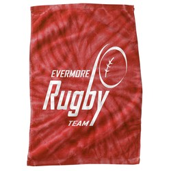 View a larger, more detailed picture of the Tie Dye Sport Towel - Closeout