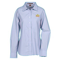 View a larger, more detailed picture of the Harriton Chambray Shirt - Ladies