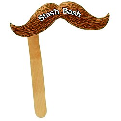 View a larger, more detailed picture of the Mustache on a Stick