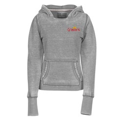 View a larger, more detailed picture of the Lakeview Burnout Hooded Sweatshirt - Ladies