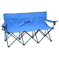 View a larger, more detailed picture of the  The Trio 3 Person Folding Sport Chair