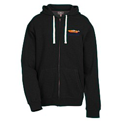 View a larger, more detailed picture of the Huron Full Zip Fleece Hoodie - Men s