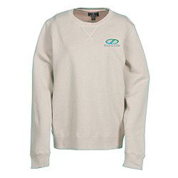View a larger, more detailed picture of the Garris V-Stitch Crew Sweatshirt - Ladies