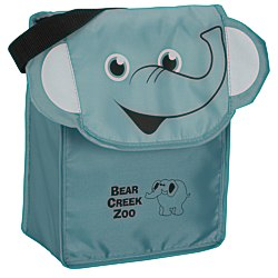 View a larger, more detailed picture of the Paws and Claws Lunch Bag Elephant