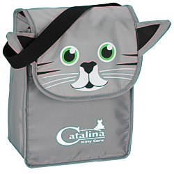 View a larger, more detailed picture of the Paws and Claws Lunch Bag Kitten
