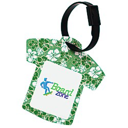 View a larger, more detailed picture of the Aloha Hawaiian Shirt Luggage Tag