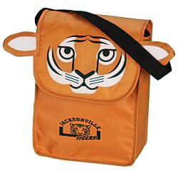 View a larger, more detailed picture of the Paws and Claws Lunch Bag Tiger - 24 hr