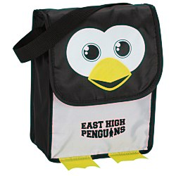 View a larger, more detailed picture of the Paws and Claws Lunch Bag Penguin - 24 hr