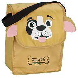 View a larger, more detailed picture of the Paws and Claws Lunch Bag Puppy - 24 hr