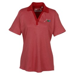 View a larger, more detailed picture of the Cutter & Buck DryTec Birdseye Polo - Ladies - Closeout