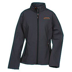 View a larger, more detailed picture of the Cruise Soft Shell Jacket - Ladies