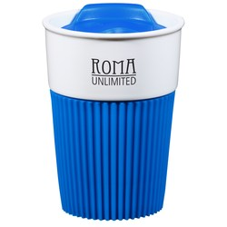 View a larger, more detailed picture of the Barista Ceramic Travel Tumbler - 12 oz