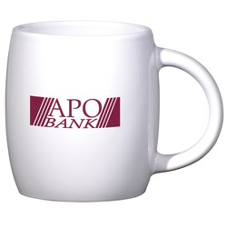 View a larger, more detailed picture of the Sleek Barrel Mug - 16 oz - Closeout