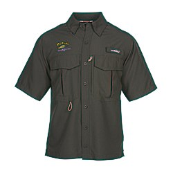 View a larger, more detailed picture of the Eddie Bauer SS Moisture Wicking Fishing Shirt