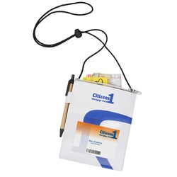 View a larger, more detailed picture of the Wave Badge Holder - Closeout