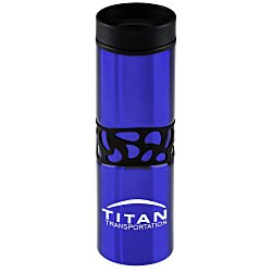 View a larger, more detailed picture of the Montara Gripper Travel Tumbler - 16 oz - 24 hr
