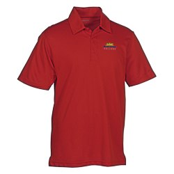 View a larger, more detailed picture of the Active Textured Performance Polo - Men s