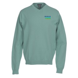 View a larger, more detailed picture of the Freeport V-Neck Sweater - Men s - 24 hr