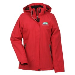 View a larger, more detailed picture of the Moritz Insulated Hooded Jacket - Ladies - 24 hr