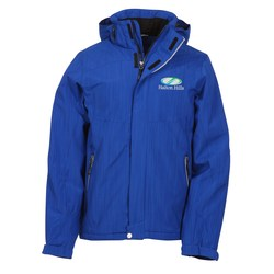 View a larger, more detailed picture of the Moritz Insulated Hooded Jacket - Men s - 24 hr