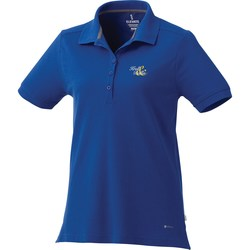 View a larger, more detailed picture of the Barela Performance Blend Pique Polo - Ladies - 24 hr